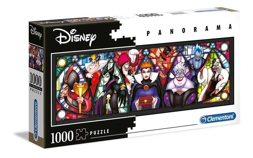 Puzzle Clementoni Villanas Disney Panorama de 1000 Pzs