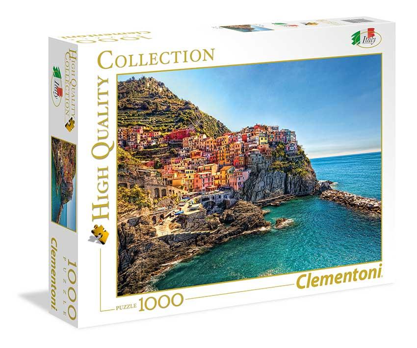 Puzzle Clementoni Manarola, Italia de 1000 Piezas