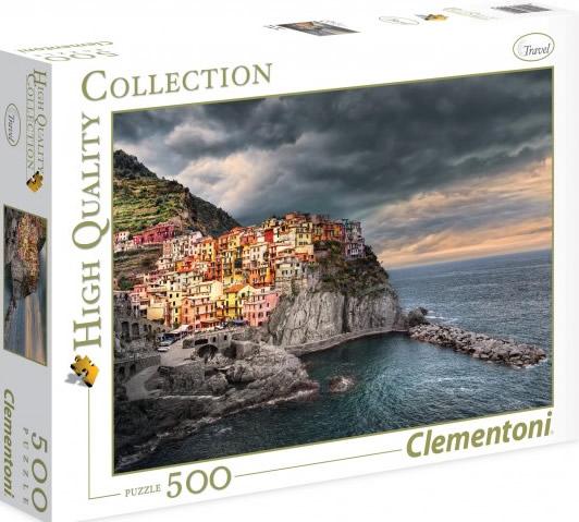 Puzzle Clementoni Manarola, Italia de 500 Piezas