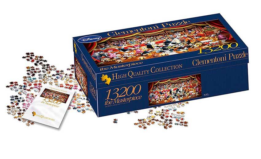 Puzzle Clementoni Maravillosa Orquesta Disney de 13200 Piezas