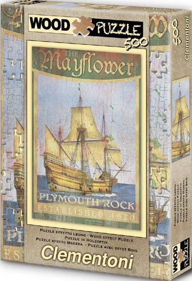 Puzzle Clementoni Mayflower de 500 Piezas