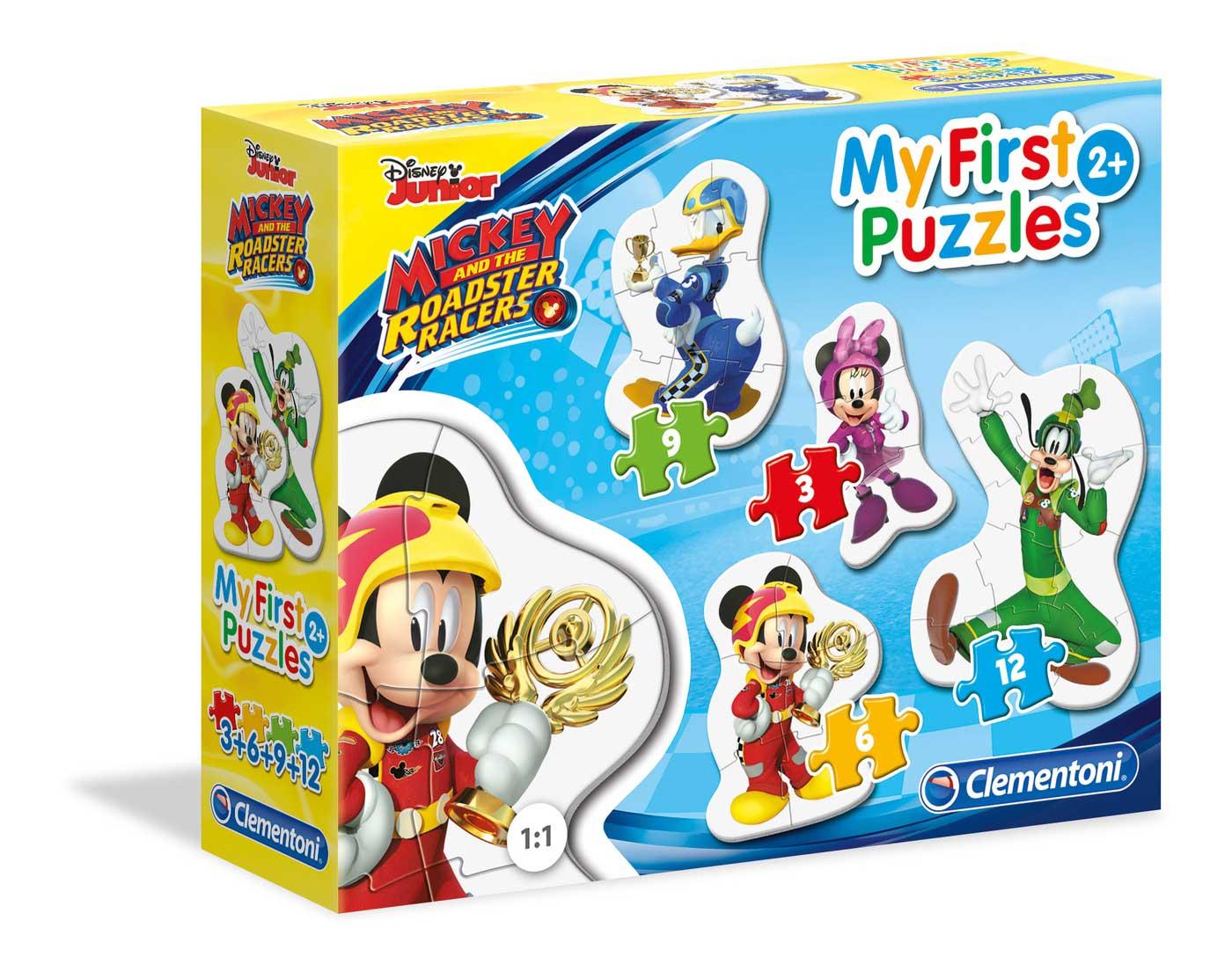 Puzzle Clementoni Mi Primer Puzzle Mickey y Los Pilotos 3-6-9-12