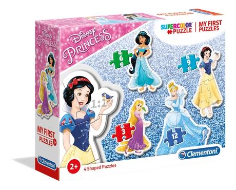 Puzzle Clementoni Mi Primer Puzzle Princesas 3-6-9-12 Pzs.