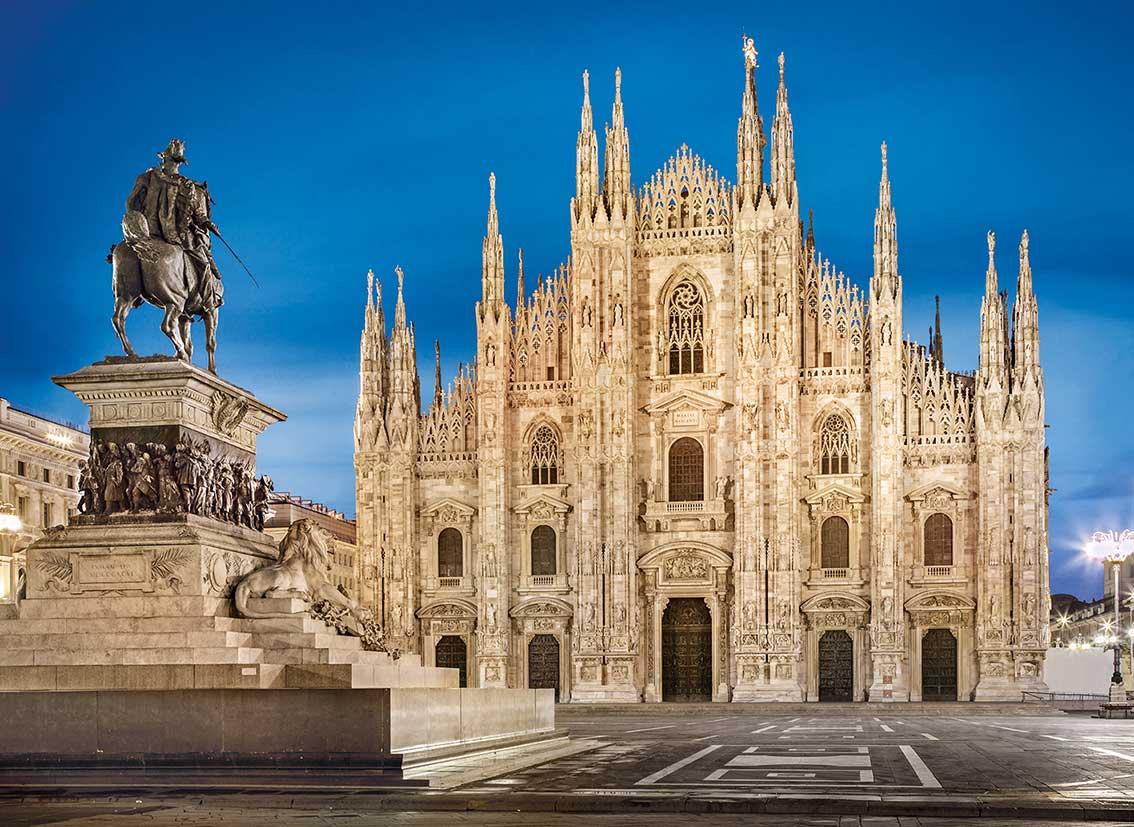 Puzzle Clementoni Milán de 1000 Piezas