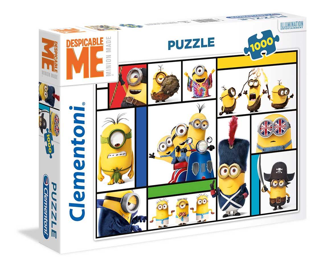 Puzzle Clementoni Minions Collage de 1000 Piezas