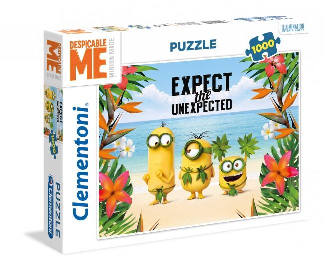 Puzzle Clementoni Minions, Espectantes de 1000 Piezas