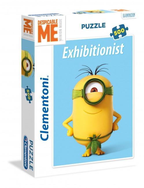 Puzzle Clementoni Minions, Exhibicionismo de 500 Piezas
