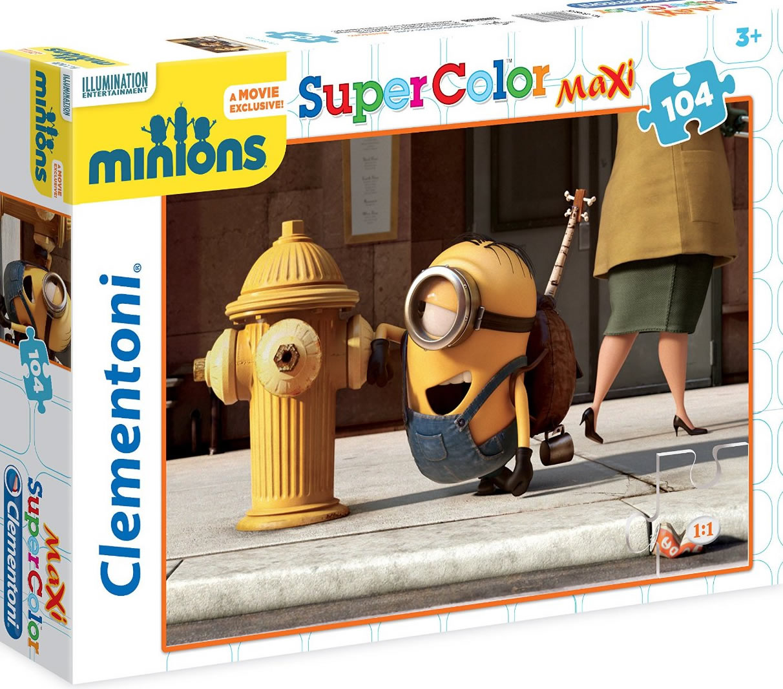Puzzle Clementoni Minions Maxi 104 Piezas