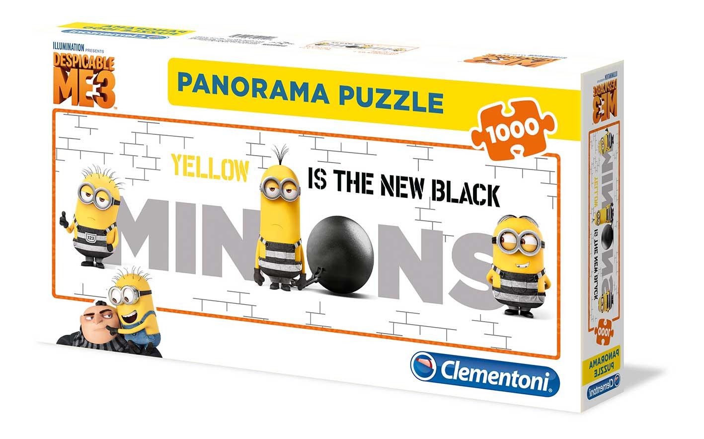 Puzzle Clementoni Minions, Amarillo es el Nuevo Negro 1000 Pzas