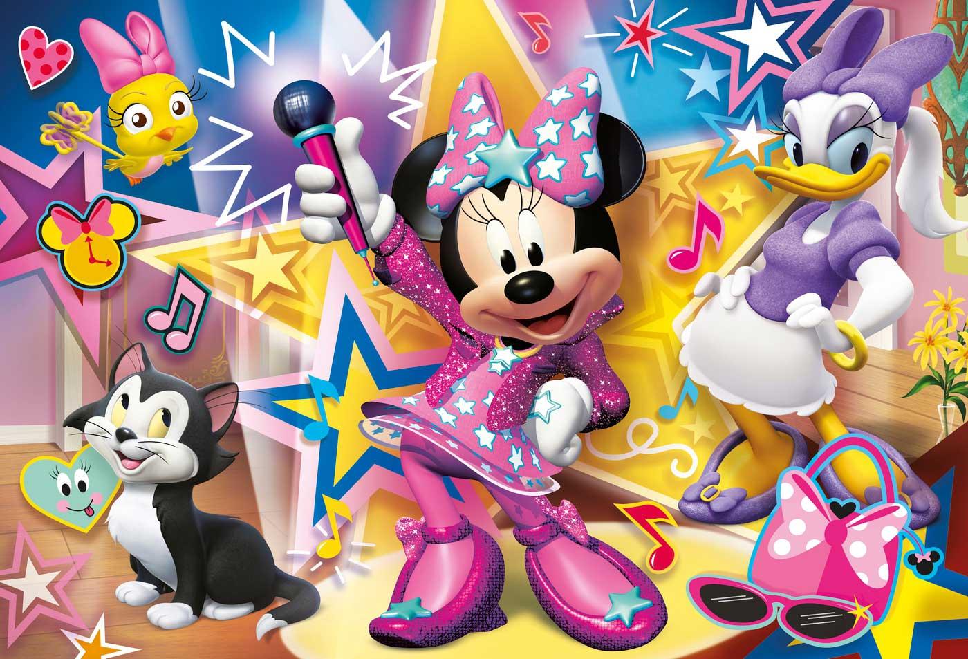 Puzzle Clementoni Minnie Mouse Maxi 60 Piezas