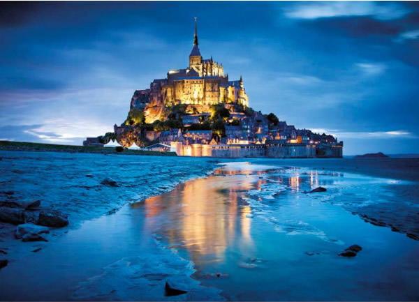Puzzle Clementoni Mont Saint Michel de 1500 Piezas