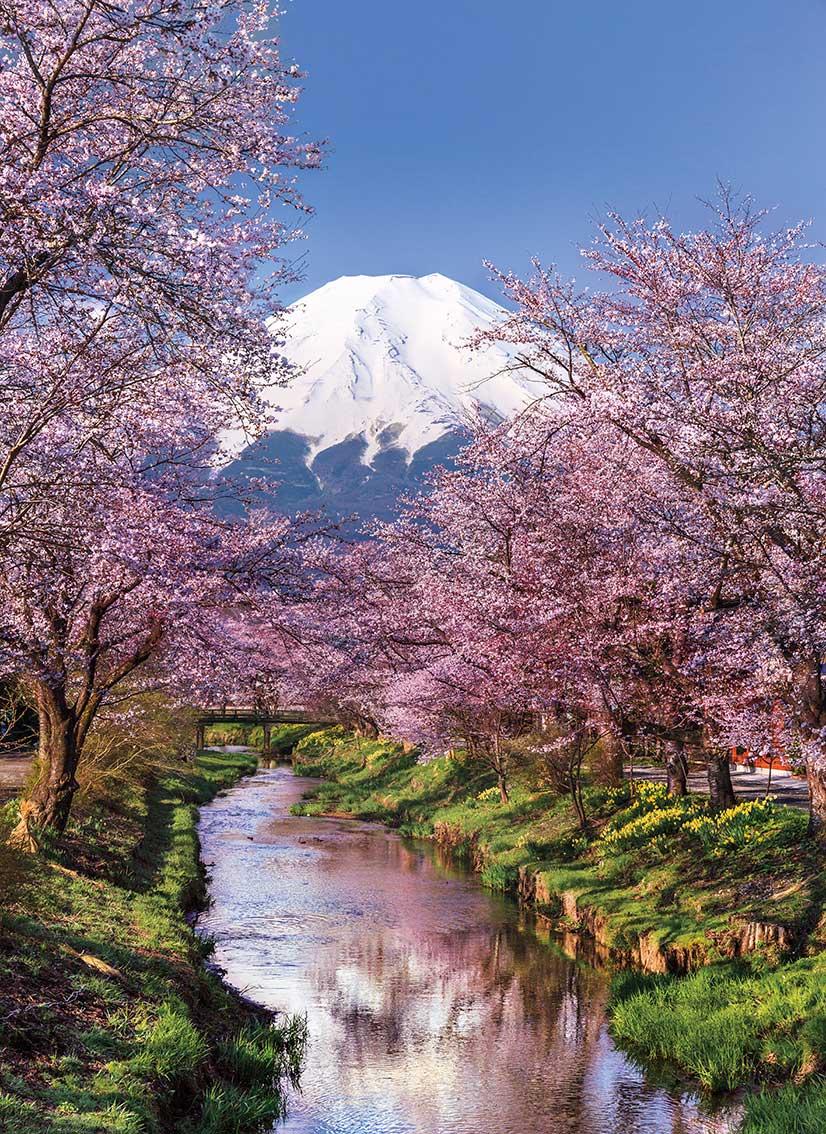 Puzzle Clementoni Montaña Fuji de 1000 Piezas