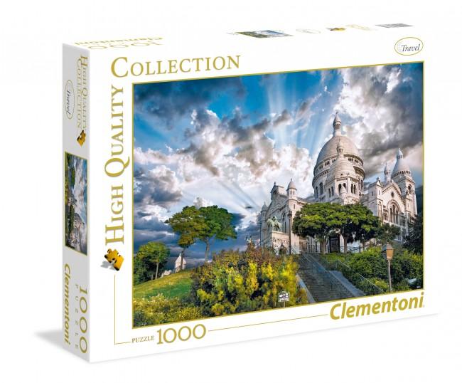 Puzzle Clementoni Montmartre de 1000 Piezas