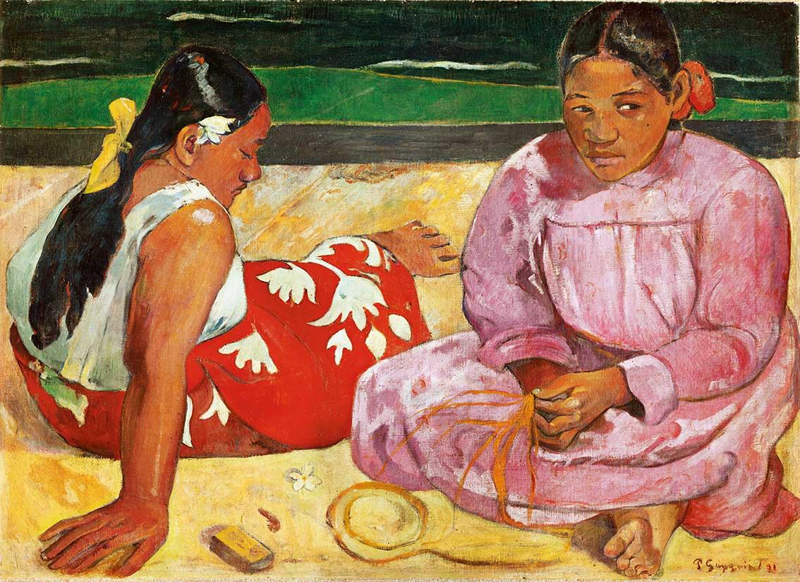 Puzzle Clementoni Mujeres de Tahiti en la Playa de 1000 Piezas