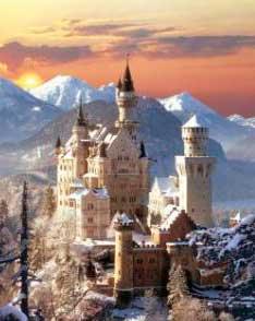 Puzzle Clementoni Castillo de Neuschwanstein de 1500 Piezas