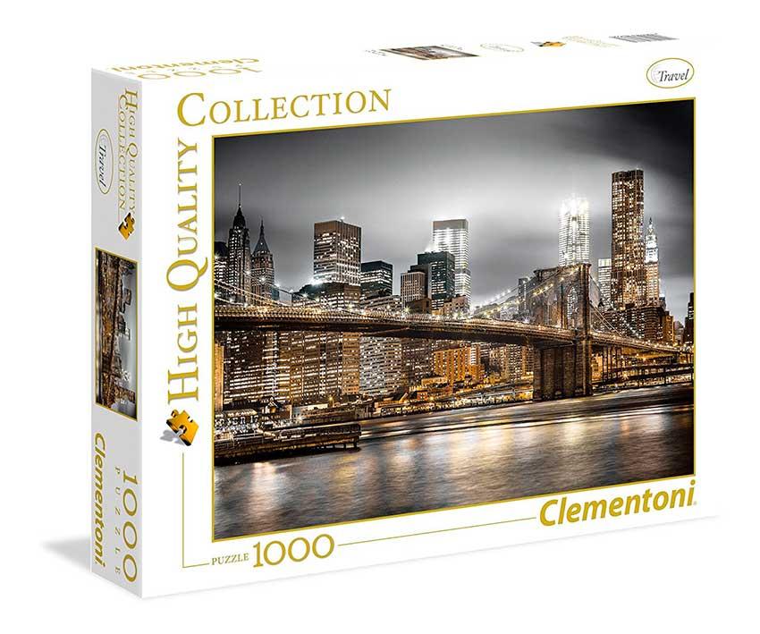 Puzzle Clementoni New York Skyline  de 1000 Piezas