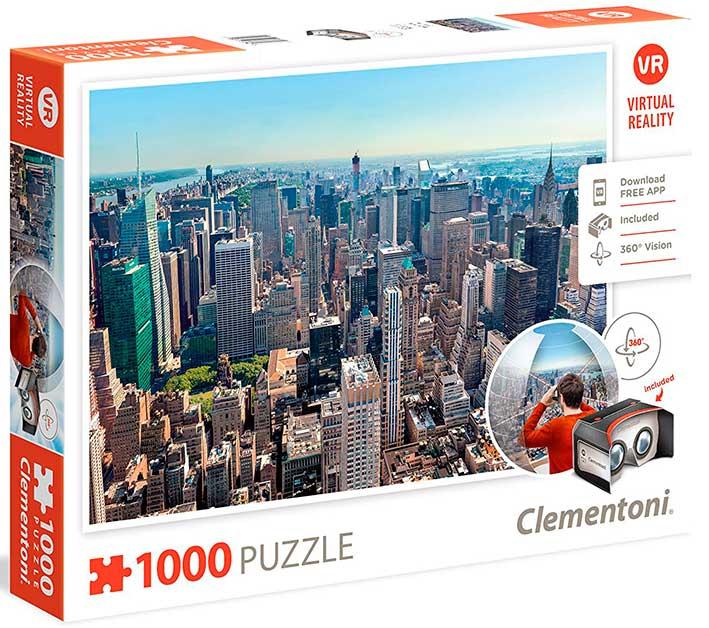 Puzzle Clementoni VR Nueva York de 1000 Piezas
