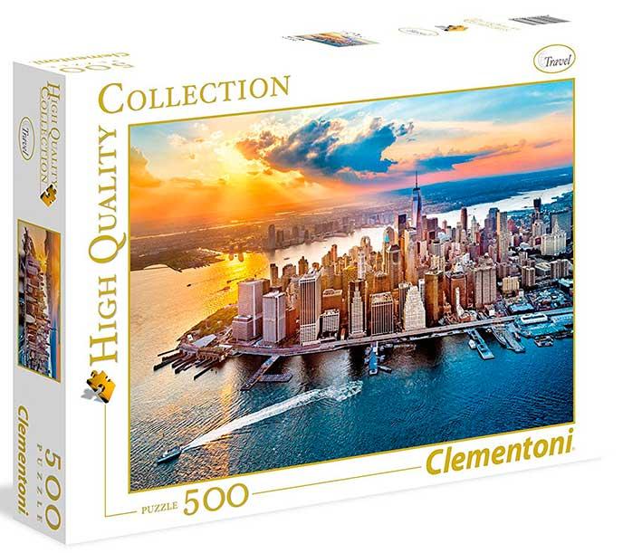 Puzzle Clementoni Nueva York de 500 Piezas
