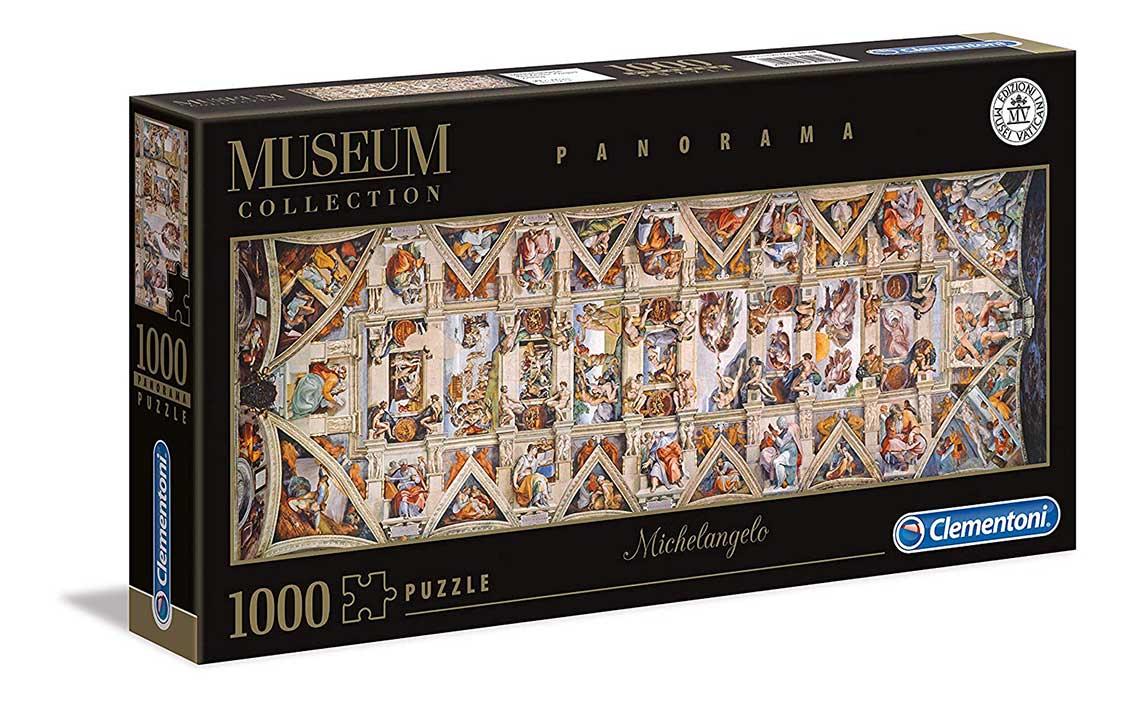 Puzzle Clementoni Panorámica de la Capilla Sixtina de 1000 Pieza