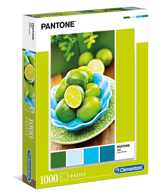 Puzzle Clementoni PANTONE 382, Zumo de Limas de 1000 Piezas
