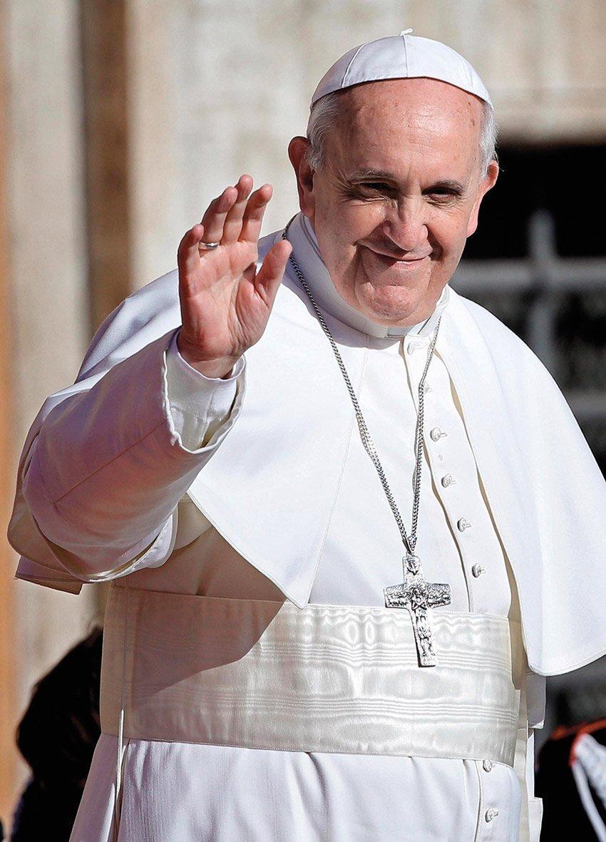 Puzzle Clementoni Papa Francisco de 1000 Piezas