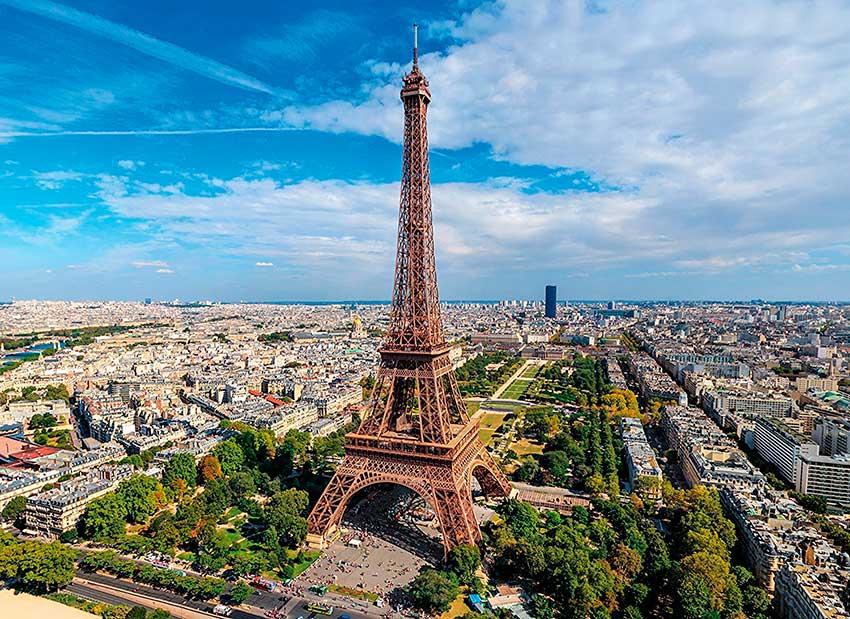 Puzzle Clementoni Realidad Virtual París de 1000 Piezas