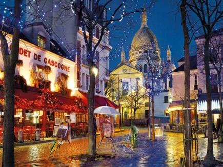 Puzzle Clementoni París, Montmartre de 1500 Piezas