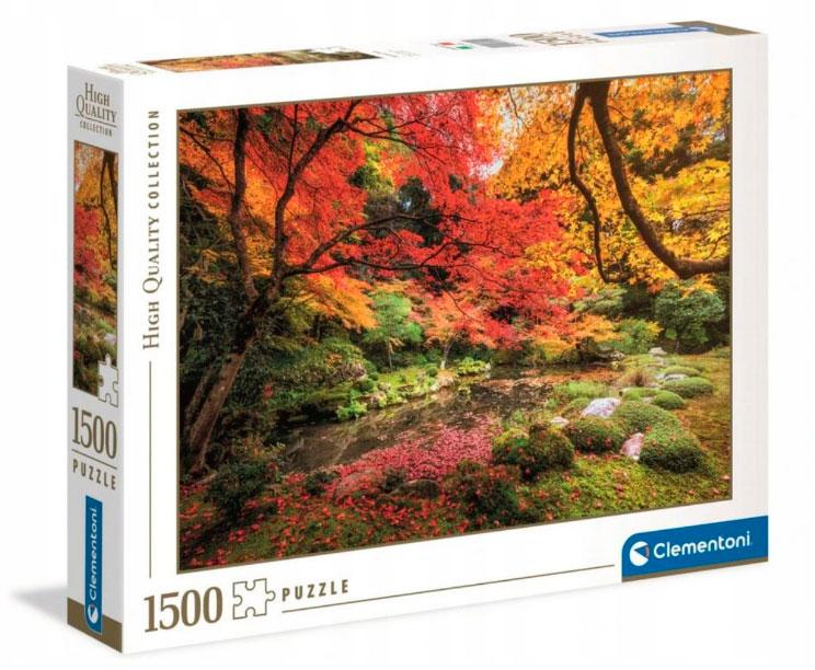 Puzzle Clementoni Parque en Otoño de 1500 Piezas