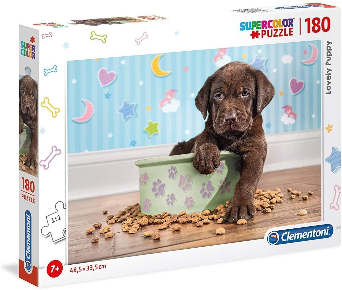 Puzzle Clementoni Perrito Adorable de 180 Piezas
