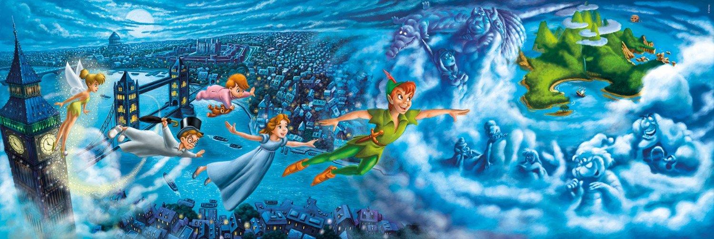 Puzzle Clementoni Peter Pan de 1000 Piezas