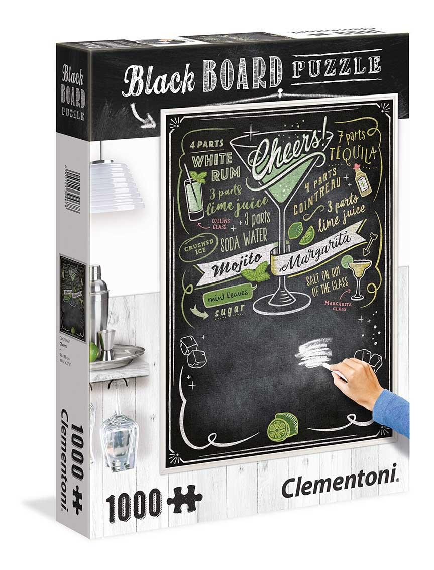 Puzzle Clementoni Pizarra Cheers de 1000 Piezas