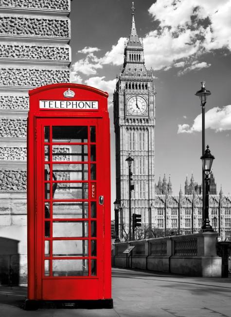Puzzle Clementoni Platinum Cabina Telefónica Londres 1000 Pzas