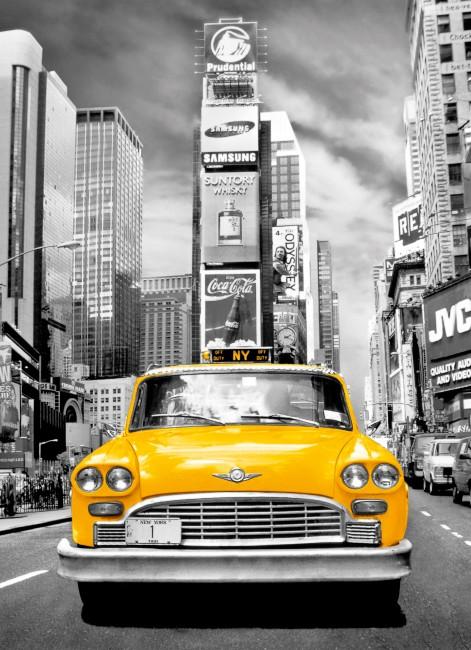 Puzzle Clementoni Platinum Taxi de Nueva York 1000 Piezas