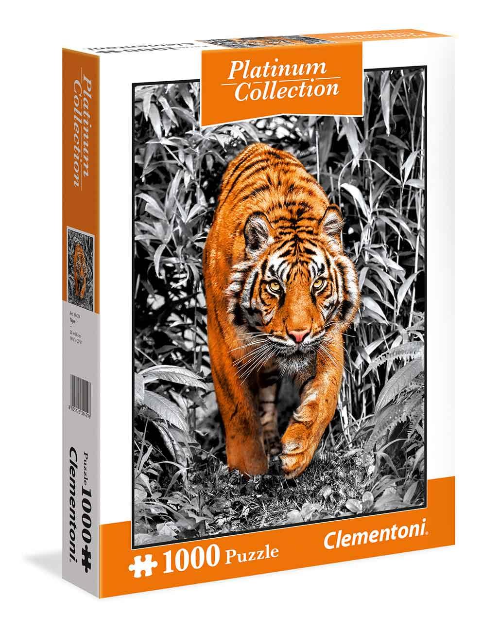 Puzzle Clementoni Platinum Tigre 1000 Piezas