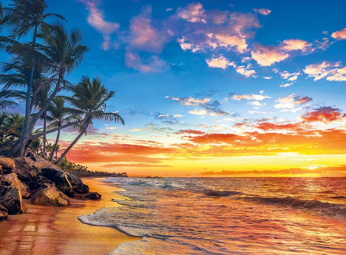 Puzzle Clementoni Playa Paradisíaca de 500 Piezas