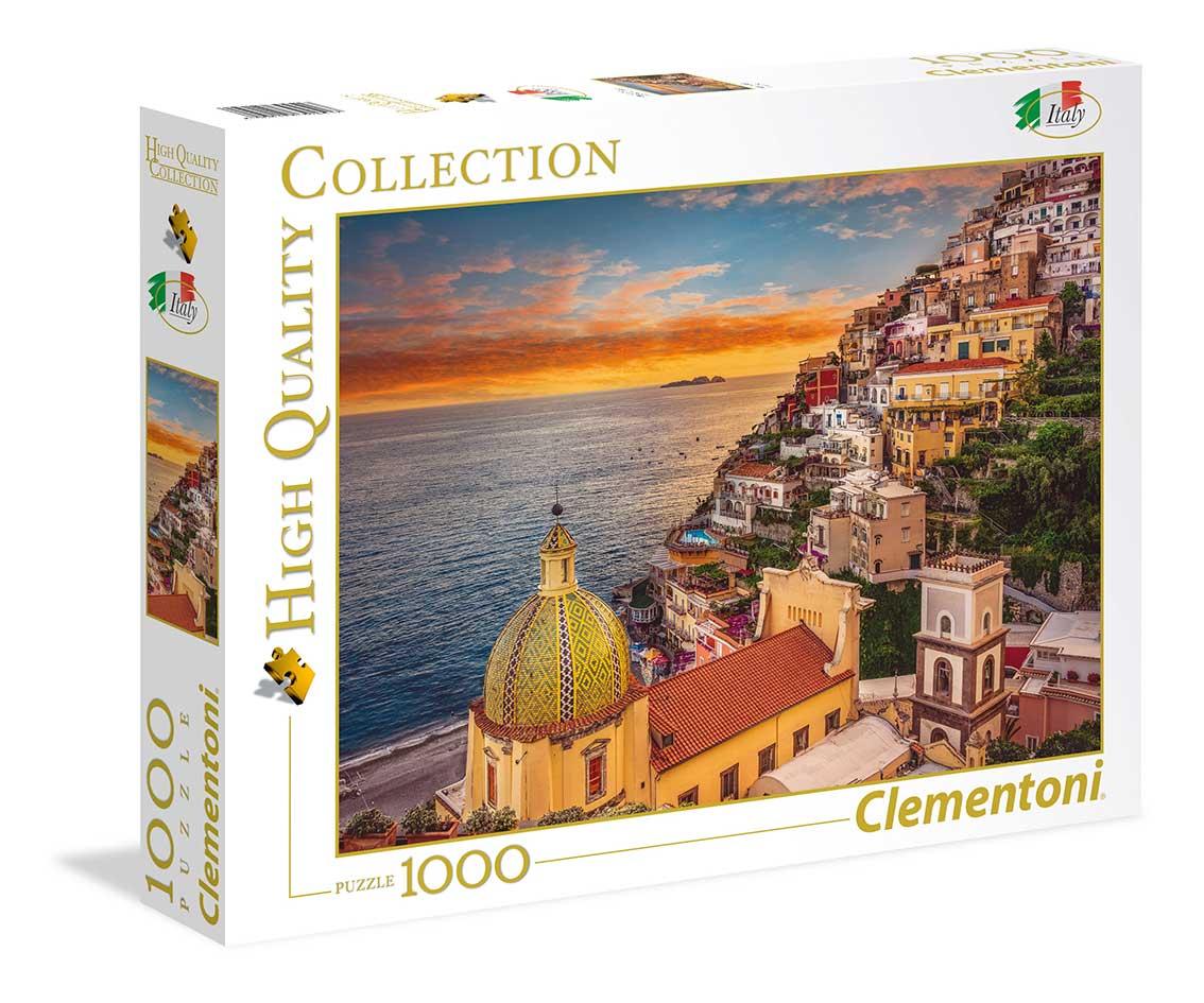 Puzzle Clementoni Positano, Italia de 1000 Piezas