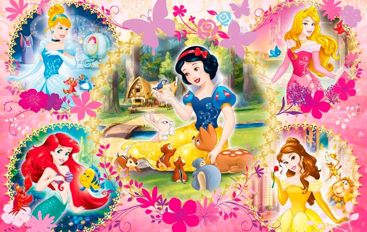 Puzzle Clementoni Princesas Disney 2 x 60 Piezas