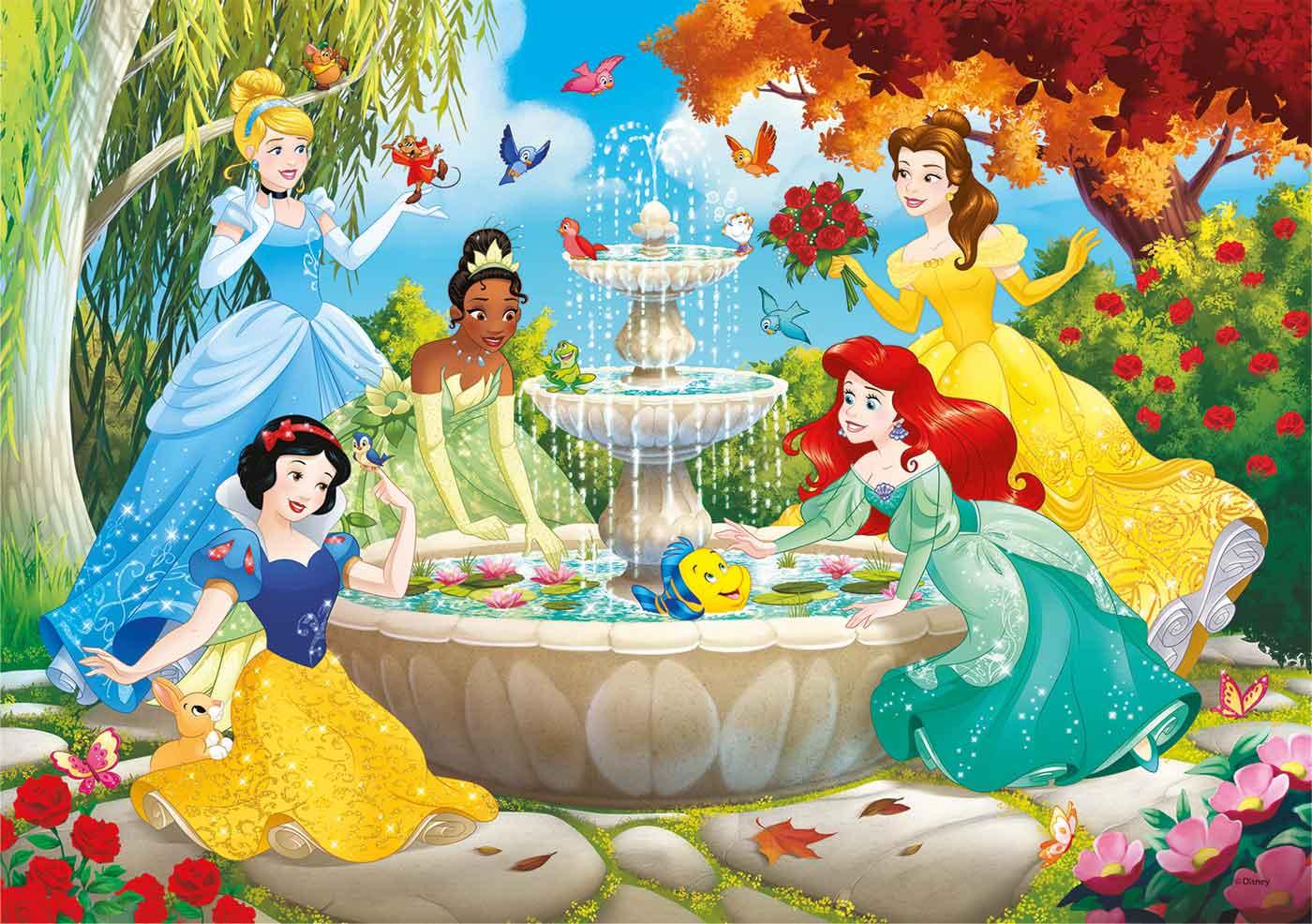 Puzzle Clementoni Princesas Disney de 60 Piezas