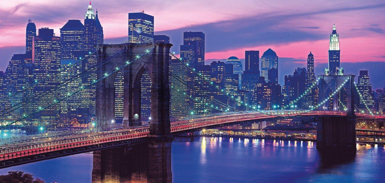 Puzzle Clementoni Puente de Brooklin, Nueva York de 13200 Piezas