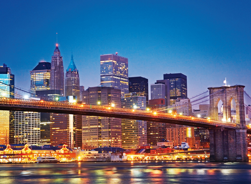 Puzzle Clementoni Puente de Brooklyn de 1000 Piezas