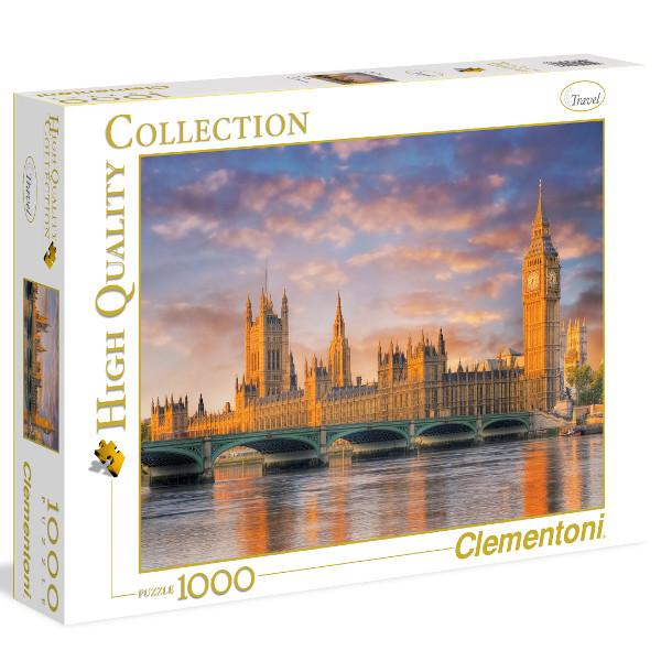 Puzzle Clementoni Puente del Parlamento de Londres de 1000 Pieza