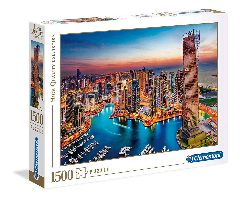 Puzzle Clementoni Puerto Deportivo de Dubai de 1500 Piezas