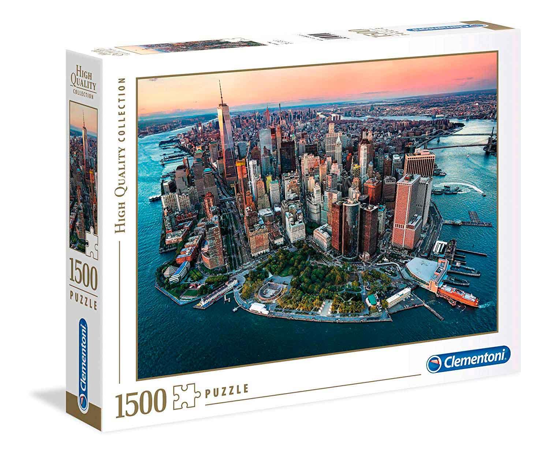 Puzzle Clementoni Puesta de Sol en Nueva York de 1500 Pzs.
