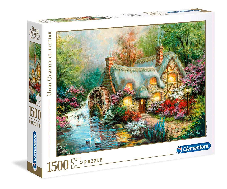 Puzzle Clementoni Retiro Campestre de 1500 Piezas