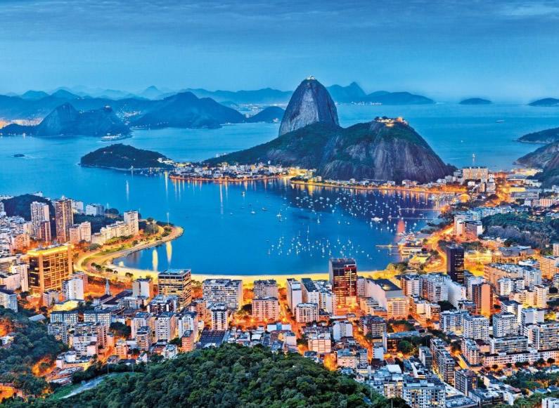 Puzzle Clementoni Rio de Janeiro de 1000 Piezas