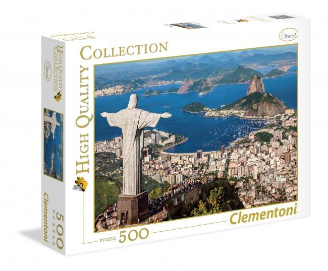 Puzzle Clementoni Rio de Janeiro de 500 Piezas