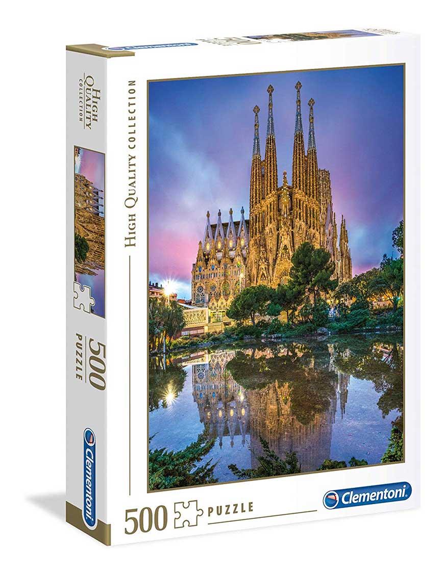 Puzzle Clementoni Sagrada Familia, Barcelona de 500 Piezas
