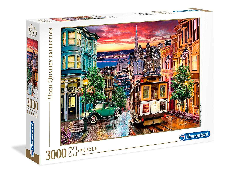 Puzzle Clementoni San Francisco de 3000 Piezas