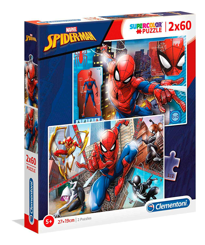 Puzzle Clementoni Spiderman 2 x 60 Piezas