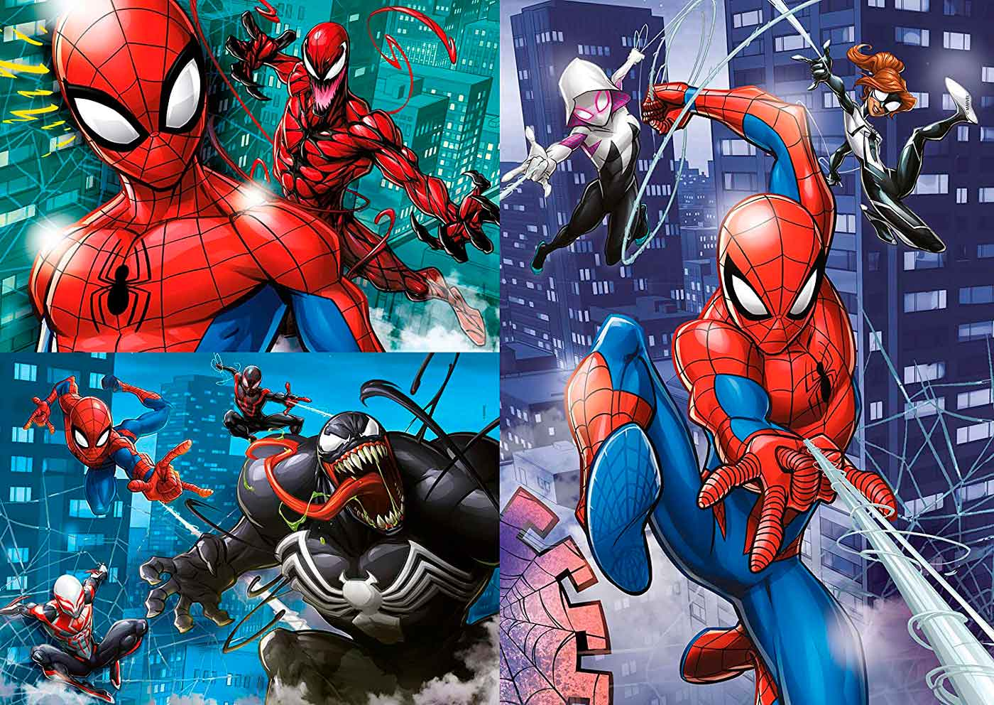 Puzzle Clementoni Spiderman 3 x 48 Piezas